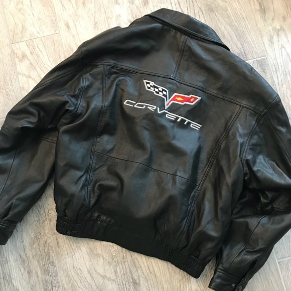 Corvette Other - Corvette leather bomber jacket